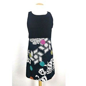 Desigual Sheila Textured A-Line Floral Dress